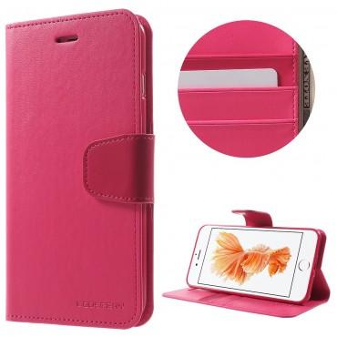 Elegantní kryt Goospery Sonata pro iPhone 8 Plus / iPhone 7 Plus - purpurový