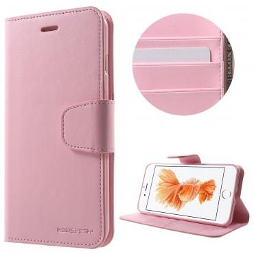 Elegantní pouzdro Goospery Sonata pro iPhone 8 Plus / iPhone 7 Plus - růžové