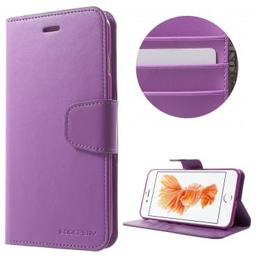 Elegantní kryt Goospery Sonata pro iPhone 8 Plus / iPhone 7 Plus - fialový