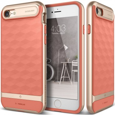 Kryt Caseology Parallax Series pro iPhone 7 - coral pink