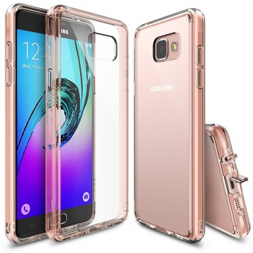"Kryt Ringke ""Fusion"" pro Samsung Galaxy A5 2016 - rose gold crystal"