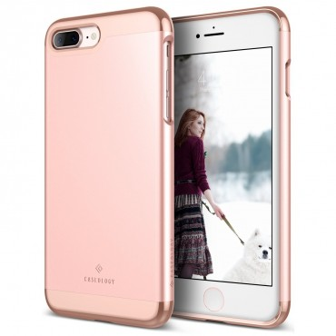 Kryt Caseology Savoy Series pro iPhone 7 Plus - rose gold