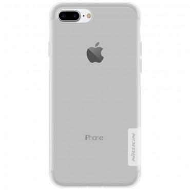 "Prémiový tenký obal ""Nature"" pro iPhone 8 Plus / iPhone 7 Plus - průhledný"