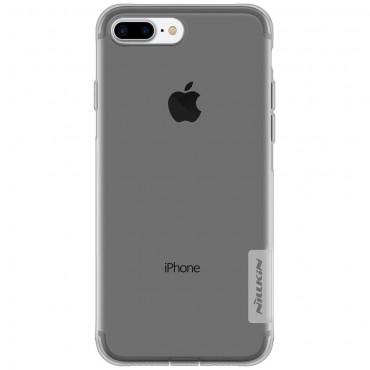 "Prémiový tenký obal ""Nature"" pro iPhone 8 Plus / iPhone 7 Plus - šedý"