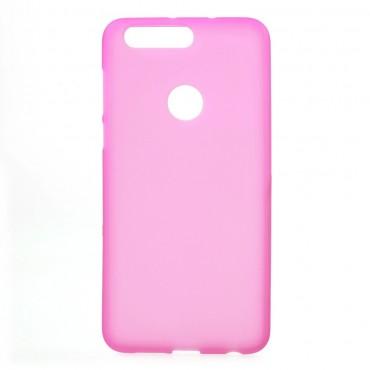 TPU gelový obal pro Huawei Honor 8 - růžový