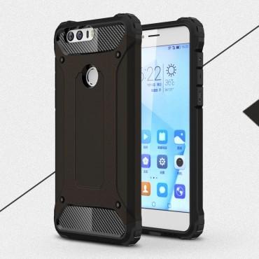 """Robustní obal """"Rock"""" pro Huawei Honor 8 - černý"""