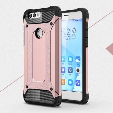 """Robustní kryt """"Rock"""" pro Huawei Honor 8 - růžové"""