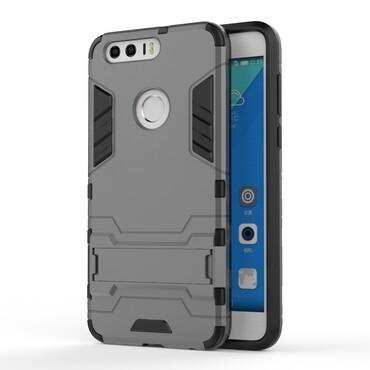 "Robustní kryt ""Impact X"" pro Huawei Honor 8 - šedý"