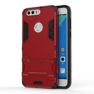 """Robustní obal """"Impact X"""" pro Huawei Honor 8 - červený"""