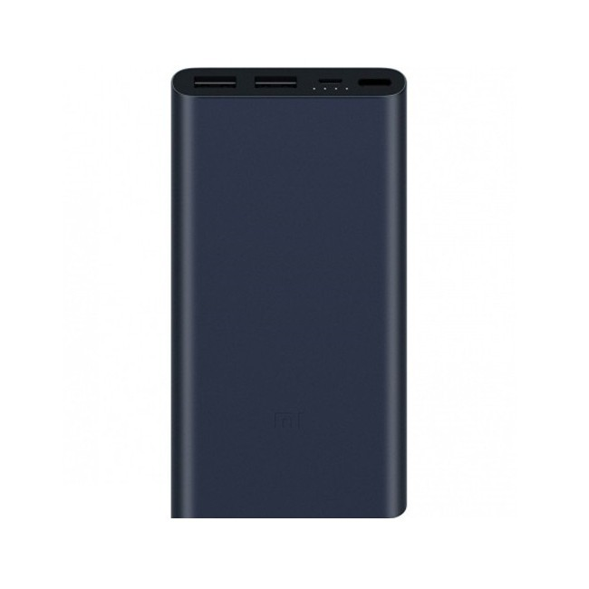 Power bank Xiaomi Mi 2 2017 Edition - 10000 mAh - černý