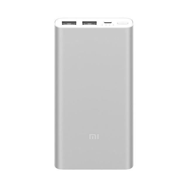 Power bank Xiaomi Mi 2 2017 Edition - 10 000 mAh - stříbrná
