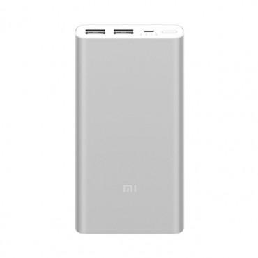 Powerbanka Xiaomi Mi 2 Edice 2018 - 10 000 mAh - stříbrná