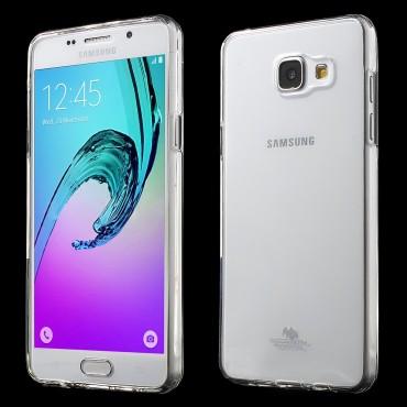 TPU gelový obal Goospery Clear Jelly Case pro Samsung Galaxy A5 (2016) - průhledný