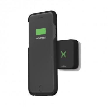 """Magnetická bezdrátová QI sada iPhone 6 """"Home Kit"""" pro iPhone 6 / 6S - černá"""
