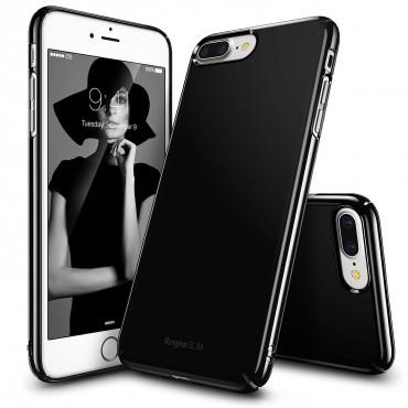 "Obal Ringke ""Slim"" pro iPhone 8 Plus / iPhone 7 Plus - leskle černý"