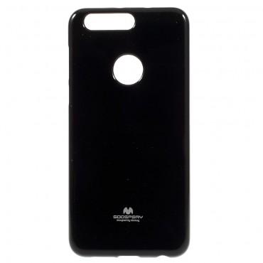 Kryt TPU gel Goospery Jelly Case pro Huawei Honor 8 - černé