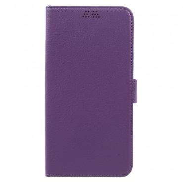 """Elegantní pouzdro """"Litchi"""" pro Huawei Mate 9 - fialový"""
