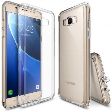 """Kryt Ringke """"Fusion"""" pro Samsung Galaxy J7 2016 - crystal clear"""