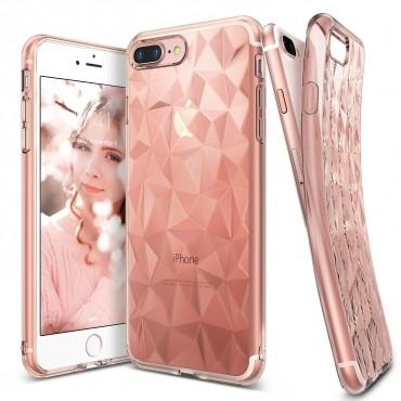 "Obal Ringke ""Air Prism"" pro iPhone 8 Plus / iPhone 7 Plus - růžově zlatý"
