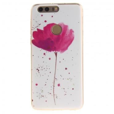 """TPU gelový obal """"Flower Dust"""" pro Huawei Honor 8"""
