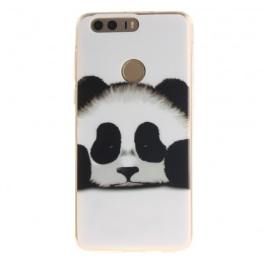 "Kryt TPU gel ""Sleeping Panda"" pro Huawei Honor 8"