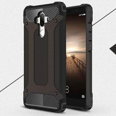 """Robustní obal """"Rock"""" pro Huawei Mate 9 - černý"""