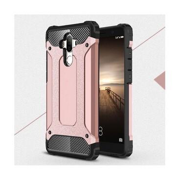 """Robustní obal """"Rock"""" pro Huawei Mate 9 - růžový"""