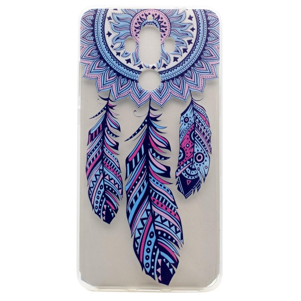 "Tenký kryt TPU gel ""Blue Dreamcatcher"" pro Huawei Mate 9"