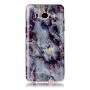 """Módní obal """"Marble"""" pro Samsung Galaxy J5 (2016) - modrý"""