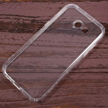 TPU gelový obal pro Samsung Galaxy A3 2017 - průhledný