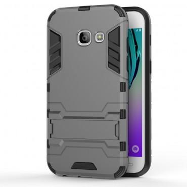 """Robustní kryt """"Impact X"""" pro Samsung Galaxy A3 2017 - šedý"""