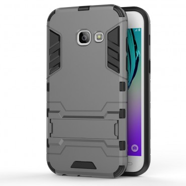 """Robustní obal """"Impact X"""" pro Samsung Galaxy A3 2017 - šedý"""