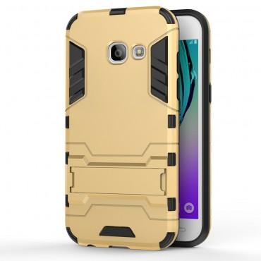 """Robustní obal """"Impact X"""" pro Samsung Galaxy A3 2017 - zlaté barvy"""
