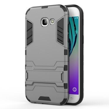 """Robustní kryt """"Impact X"""" pro Samsung Galaxy A5 2017 - šedý"""