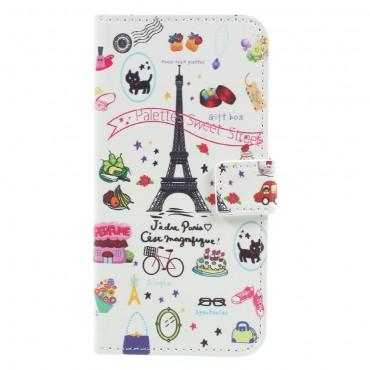 "Módní pouzdro ""Paris Touch"" pro Samsung Galaxy A5 2017"