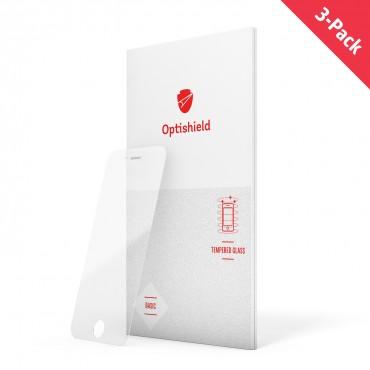 Balení 3 kusů ochranných skel Optishield pro iPhone 8 / iPhone 7