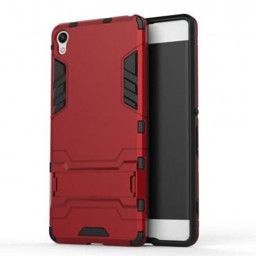 """Robustní obal """"Impact X"""" pro Sony Xperia XA - červený"""