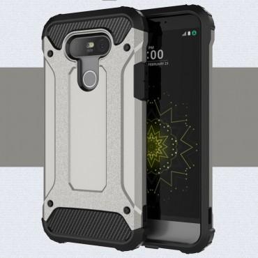 """Robustní obal """"Rock"""" pro LG G5 - šedý"""