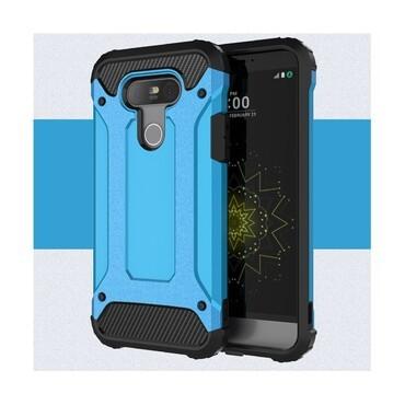 """Robustní kryt """"Rock"""" pro LG G5 - modrý"""