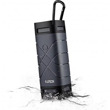 """Přenosný vodotěsný Bluetooth reproduktor """"Earson 2"""" - černý"""