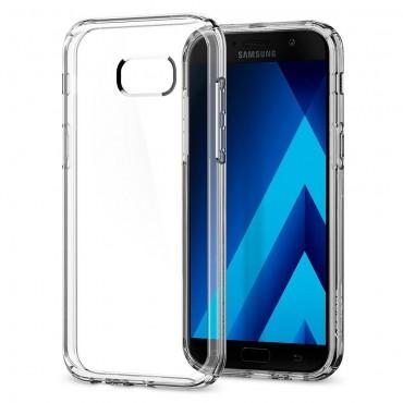 """Kryt Spigen """"Ultra Hybrid"""" pro Samsung Galaxy A5 2017 - crystal clear"""