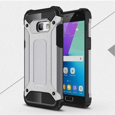 """Robustní obal """"Rock"""" pro Samsung Galaxy A3 2017 - šedý"""