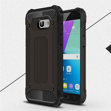 """Robustní kryt """"Rock"""" pro Samsung Galaxy A5 2017 - černé"""