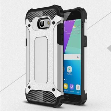 """Robustní obal """"Rock"""" pro Samsung Galaxy A5 2017 - stříbrný"""