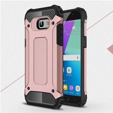 """Robustní obal """"Rock"""" pro Samsung Galaxy A5 2017 - růžový"""