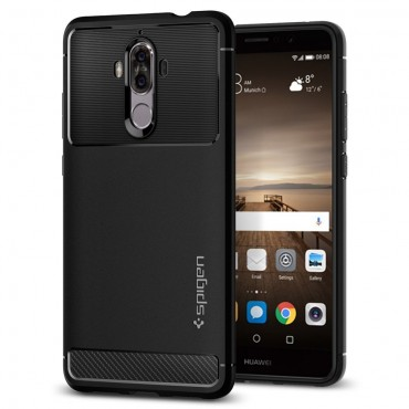 "Obal Spigen ""Rugged Armor"" pro Huawei Mate 9 - černý"