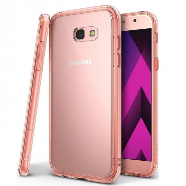 "Kryt Ringke ""Fusion"" pro Samsung Galaxy A3 2017 - rose gold"