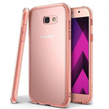 """Obal Ringke """"Fusion"""" pro Samsung Galaxy A3 2017 - růžově zlatý"""