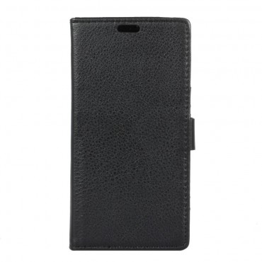 """Elegantní pouzdro """"Litchi"""" pro Samsung Galaxy S8 Plus z umělé kůže - černé"""