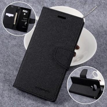 Pouzdro Goospery Fancy Diary pro LG G6 - černé